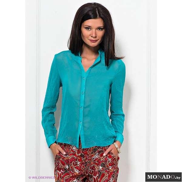 блузка бирюзовая купить