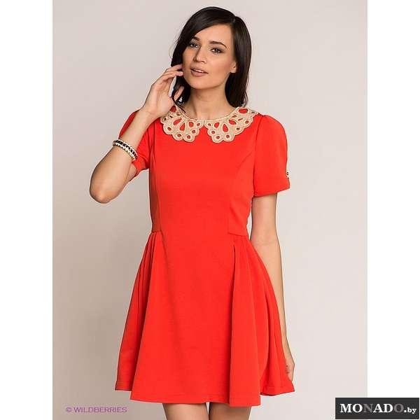 Горловина летнего платья