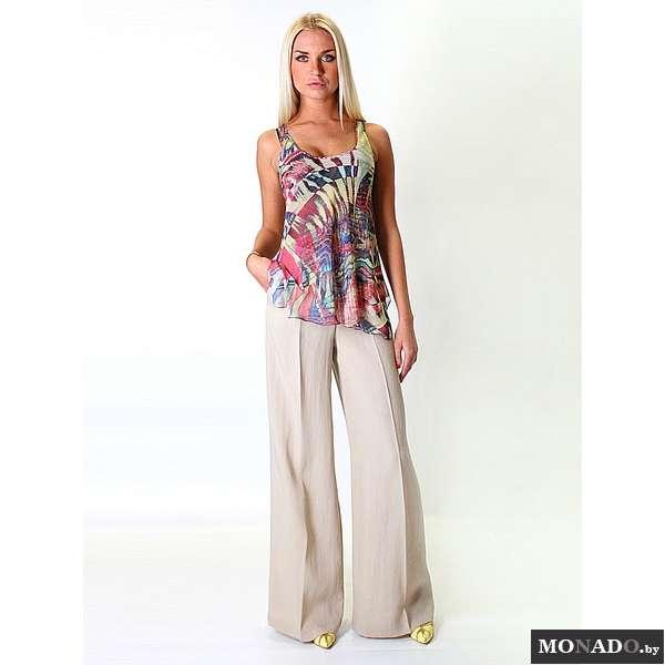 Рубашка туника с брюками женские