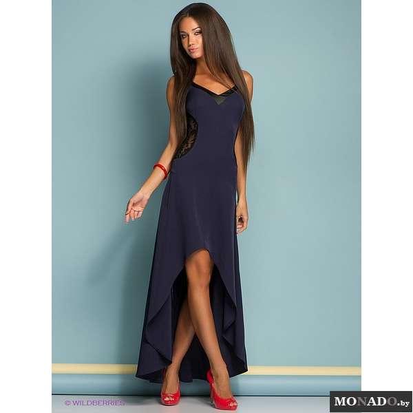 Ассиметричное платье годе