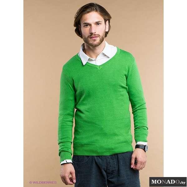Мужской Джемпер Зеленый С Доставкой
