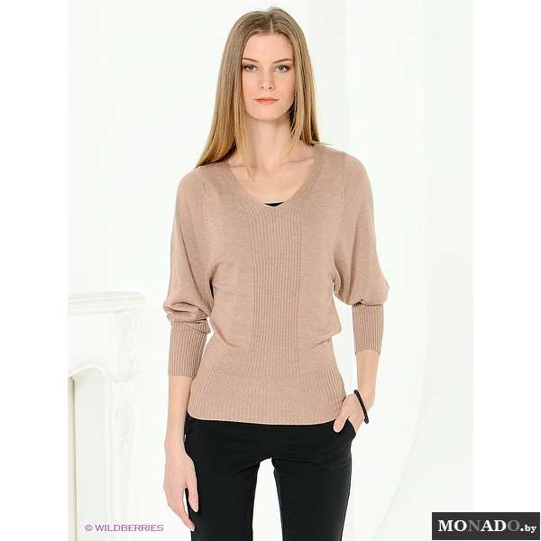 Пуловер С V Образным Вырезом С Доставкой