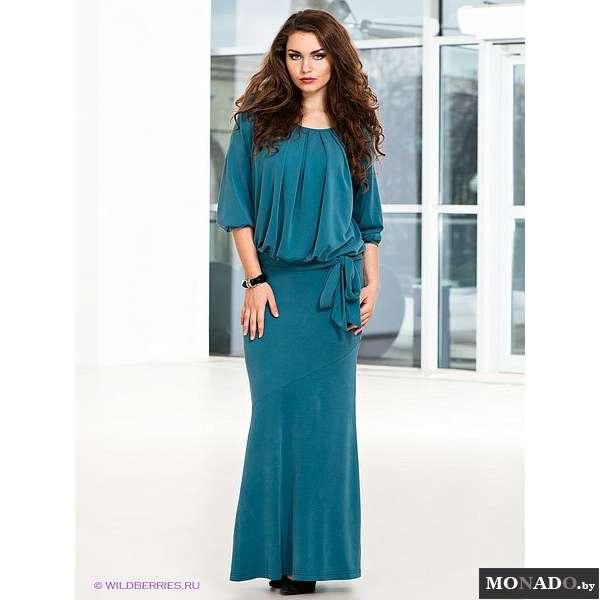 Вечернее платье с заниженной талией